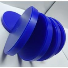 5 أجزاء/وحدة الأسنان الشمع كتلة مختبر CAD كام الشمع القرص ل Weiland نظام 98 مللي متر * 10/12/14/16/18/20/25 مللي متر الأزرق نحت الشمع كتلة