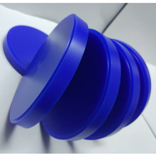 5 Stuks/partij Dental Wax Blok Lab Cad Cam Wax Disc Voor Weiland Systeem 98Mm * 10/12/14/16/18/20/25Mm Blauw Carving Wax Blok