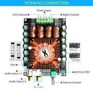 Image 4 - Scheda amplificatore unisiana TDA7498E classe D audio 2.0 canali Hifi BTL mono 220w amplificatori ad alta potenza per sistemi audio domestici
