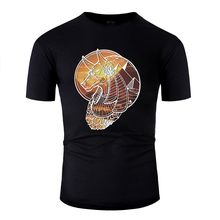 New Style The Egyptian God Anubis Tshirt Men Graphic Mens Tee Shirt 2019 Short-Sleeve(China)