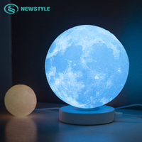 Night Light 3D Illusion Lamp 3 Colors Change LED Lamps Smart Touch USB Children's Day Best Gift Bedroom Decor Bedside Lamp