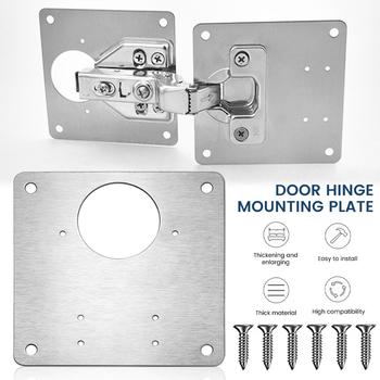 Zawias meblowy montażu naprawy płyty ze stali nierdzewnej stalowa szafka drzwi szuflady okno pokładzie sprzęt meblowy akcesoria do montażu narzędzie tanie i dobre opinie CN (pochodzenie) hydrauliczny NONE