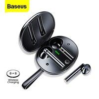 Baseus W05-auriculares TWS, inalámbricos por Bluetooth 5,0, auténticos auriculares estéreo HD para iPhone 12 Pro y Xiaomi