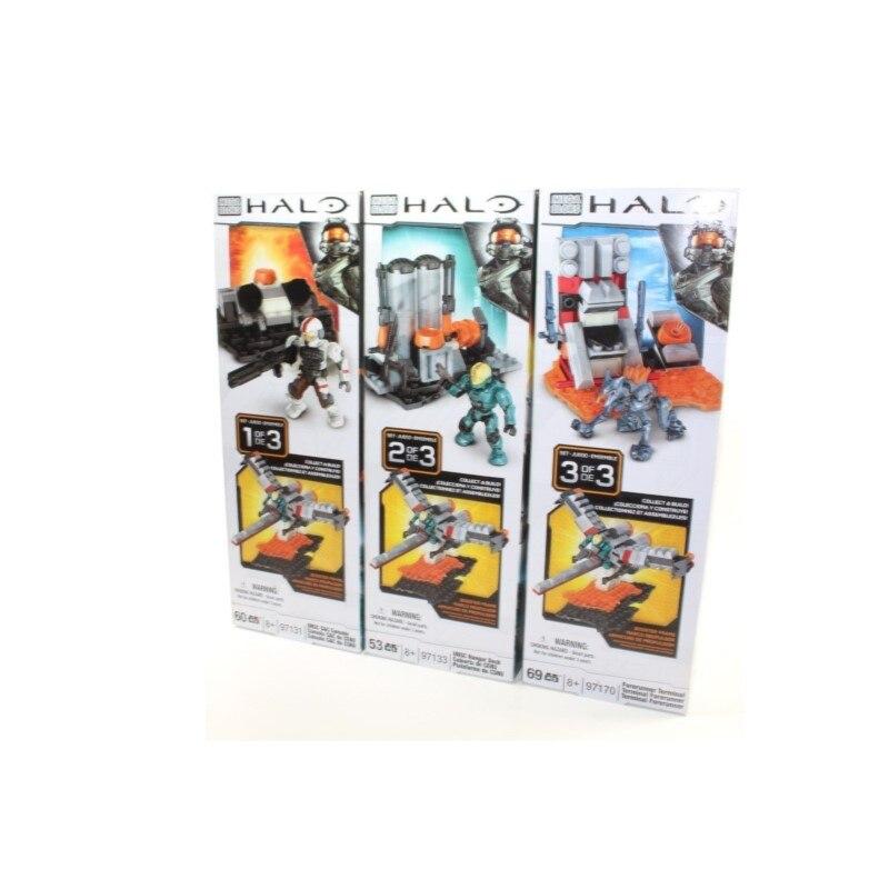 HALO UNSC C&C Console Hanga Deck Forerunner Terminal MEGA Buliding Bloks Toy