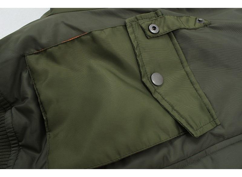 Ha159102bbe574e91b7e4c1fab07fabacR Artsnie Autumn 2020 Bomber Jacket Women Army Green Warm Zipper Pockets Winter Coat Female Jacket Parkas Femme Chaqueta Mujer