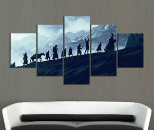 Decorative Paintings Movie Poster Artwork Living-Room-Decor Wall-Picture Fiction