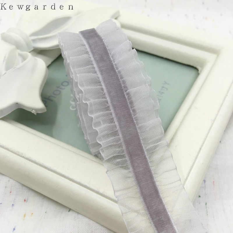 """25mm 1 """"kadife elastik şerit DIY ilmek aksesuarları saten kurdela el yapımı Riband bant saç bandı 3Y/lot"""