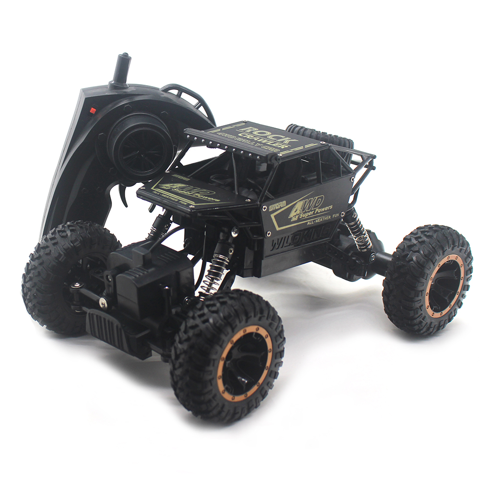 2.4G 4WD RC Rock Crawler Remote Control Car Radio Control Toys 4x4 Drive Toys For Boys Electric RC Car Kids Gifts 1803 storage cable