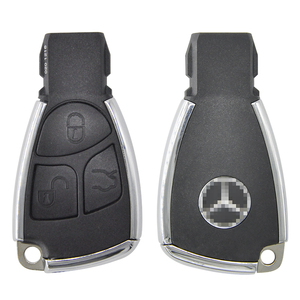 Image 5 - Datong World Car Key Shell Case For Mercedes Benz A C E S Class W203 W211 W204  CLS CLK Modified Replace Smart  Card Cover Part