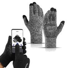 Велосипедные перчатки вязаные толстые зимние теплые унисекс