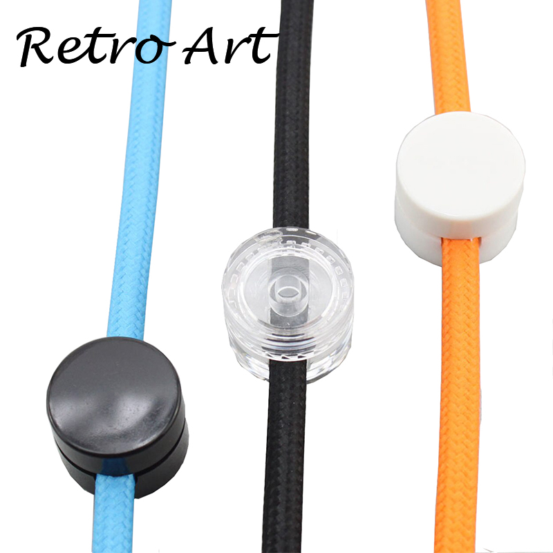 New Style Wall Lamp Cord Grip Threaded Strain Relief Lamp Wire Clip