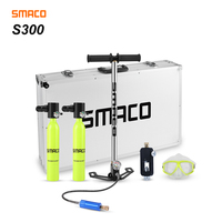 SMACO Two oxygen cylinder sets Mini scuba diving equipment  tank total freedom breath underwater for 5 to 10 minutes|Snorkels| |  -