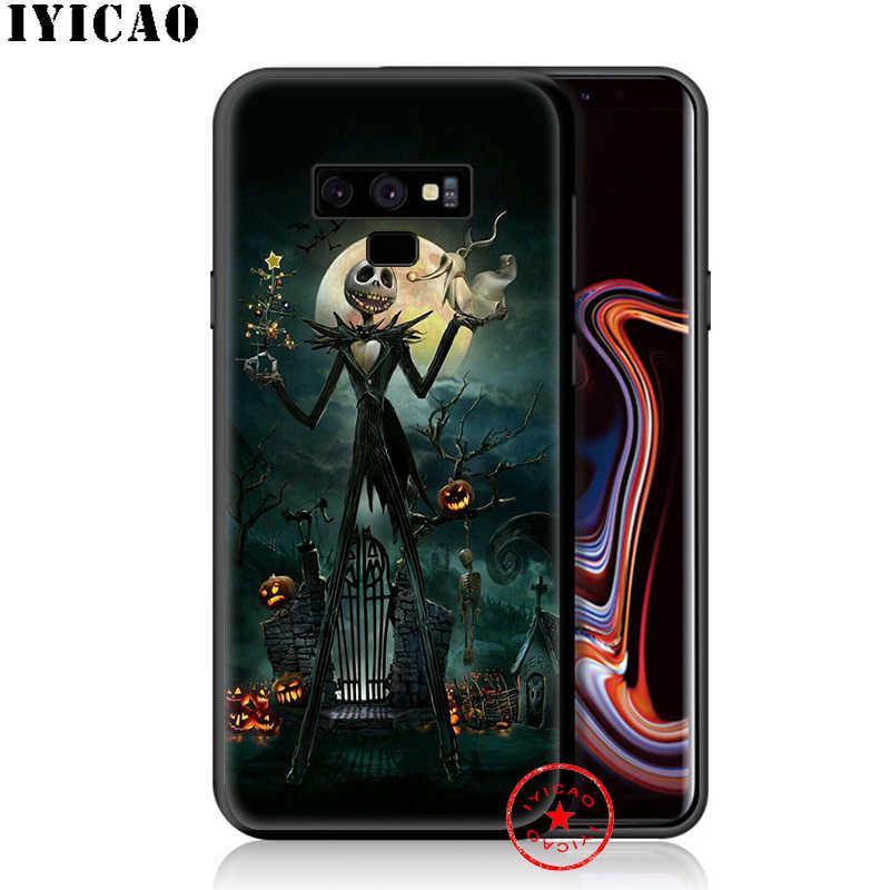 Koszmar przed świętami bożego narodzenia miękki futerał na telefon do Samsung Galaxy S10e S10 S9 S8 Plus S6 S7 krawędzi uwaga 10 plus 9 8