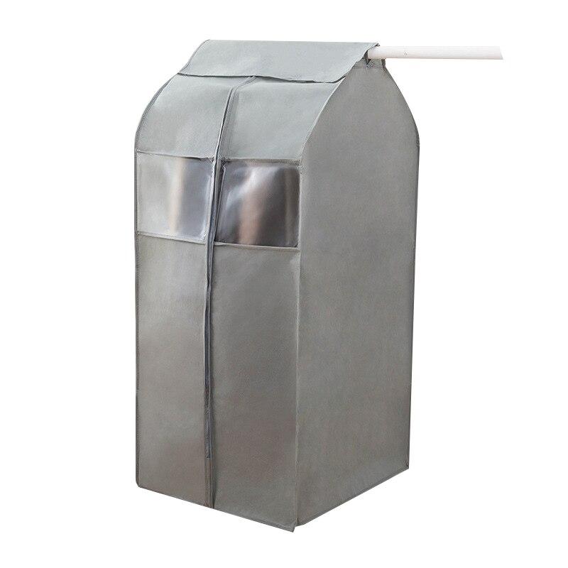 Ev ve Bahçe'ten Çantalar ve Sepetler'de Büyük boy giyim tozluk saklama çantası asılı giysi çantası koruyucu kapak (gri) title=