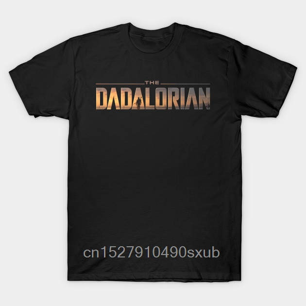 Men's Cool Short-Sleeve T-Shirt The Dadalorian Trendy Creative Graphic T-shirt Top