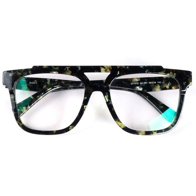 $  Oversized designer glasses men fake glasses decoration
