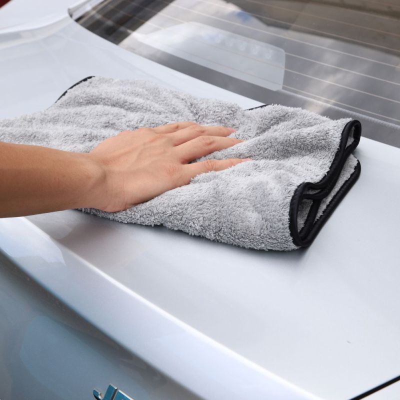 Microfiber Towel Cleaning Car Wash Cloth Auto Cleaning Door Window Care Thick Strong Water Absorption For Car Home Automobile Y