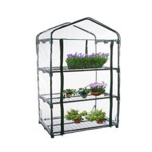 PVC Warm Garden Tier Mini Household Plant Greenhouse Portable Waterproof Protective Cover Anti-UV Protect Garden Plants Flowers