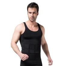 Slimming Vest Men's Slimming Underwear Body Shaper Waist Cincher Corset Tummy Belly Body Shapewear