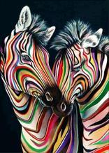 5D DIY Diamond Painting Animal Zebra Drawing Needlework Gift Full Diamond Mosaic Cross stitch Home Decor 5d diy diamond painting flower diamond embroidery cross stitch home decoration zebra needlework full diamond mosaic