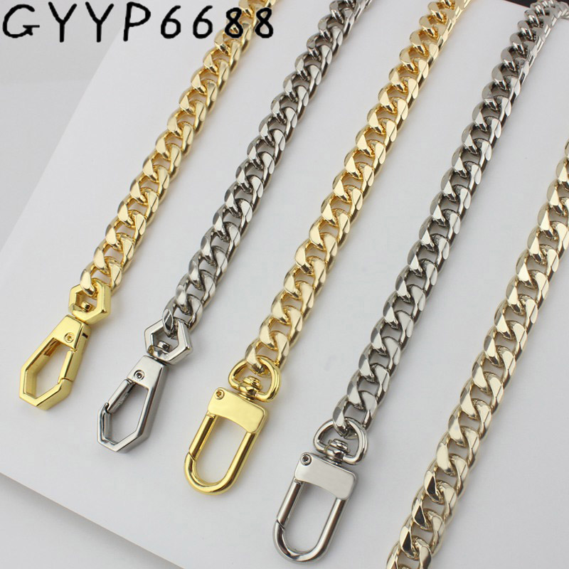 Aluminum Chain Light Weight High-grade Electroplating Female Bag Chain Single Buy Package Hardware Accessories