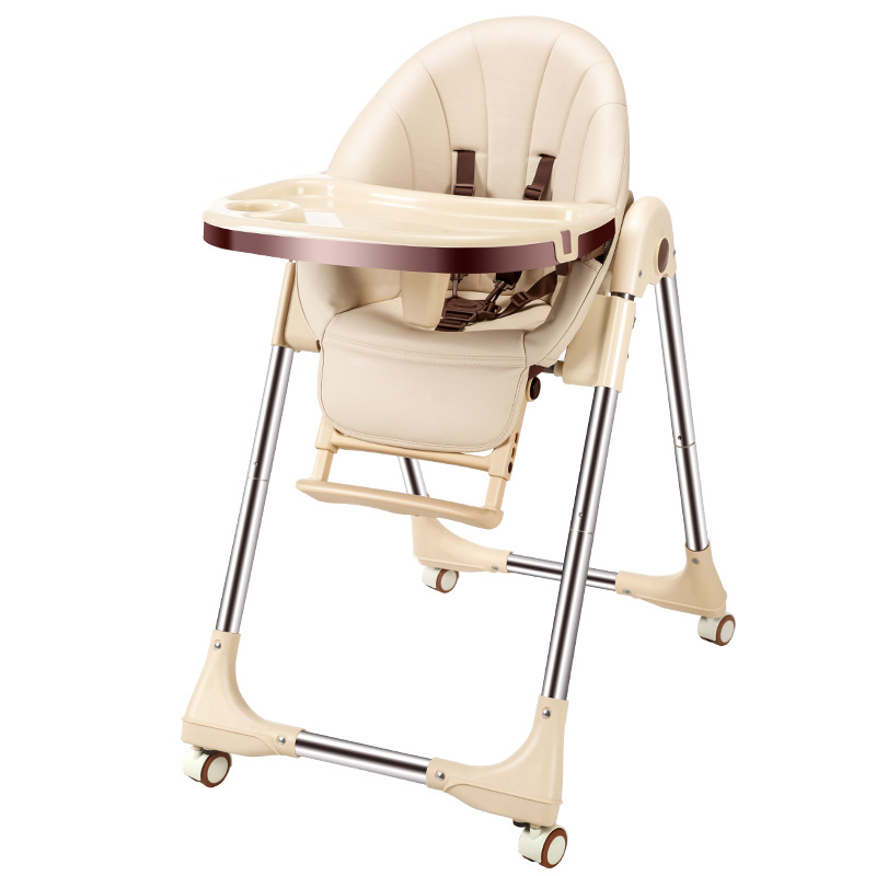 Newborn Baby Feedding Chair Portable Infant Seat Adjustable Folding Baby Dining Chair High Chair Baby High Chair