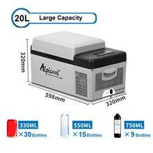 15l geladeira freezer refrigerador refrigerador do carro auto refrigerador compressor de controle temperatura ajustável/3 níveis tensão ajustável