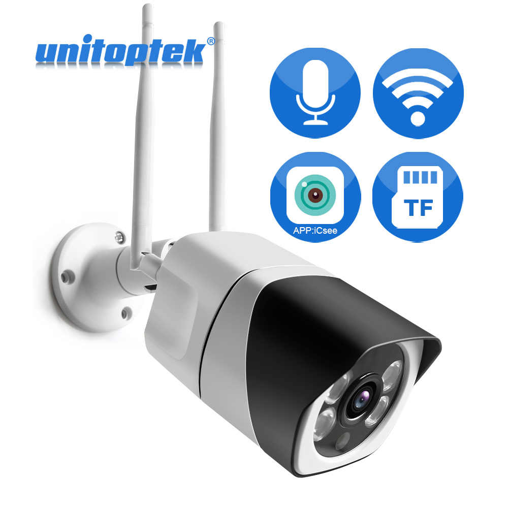 Infrared Night Vision Full HD 1920 x 1080p Wireless Indoor Security Camera Motion Detection Two-Way Audio AUKEY IP Camera Mobile App Control