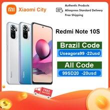 Xiaomi Redmi Note 10S 64g 128G NFC Global Smartphone 64MP Quad Camera Helio G95 6.43″ AMOLED DotDisplay 33W Fast Charging