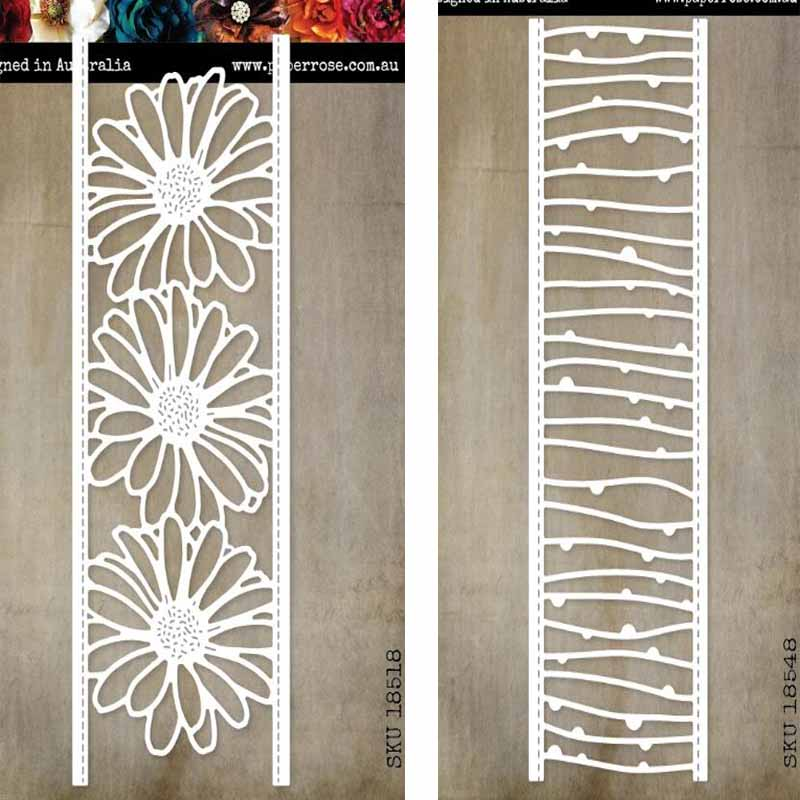 Metal cutting dies 2pc lace cut die mold decoration Scrapbook paper craft knife mould blade punch stencils die Cutting Dies     - title=