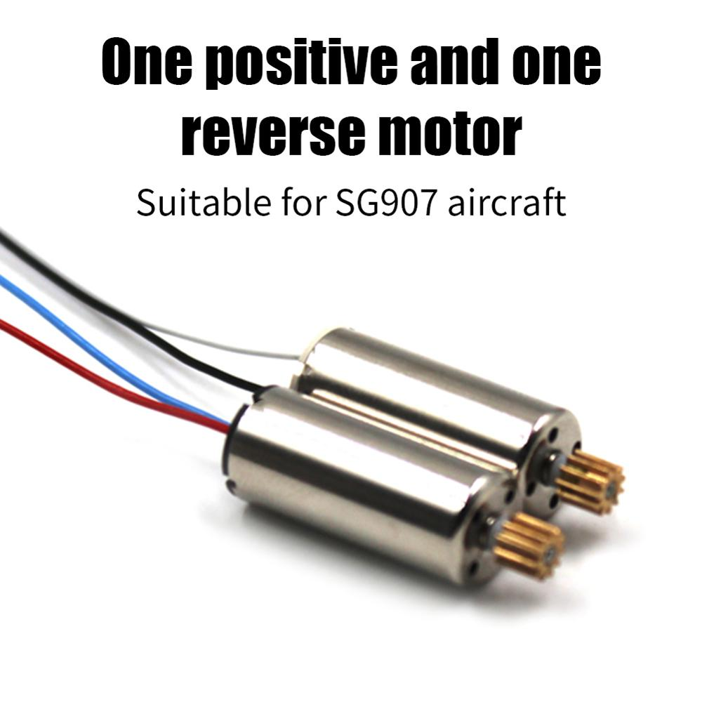 2Pcs/set Original SG907 RC Drone Brushed Motor RC Spare Parts For SG907 4K 5G Wifi GPS RC Quadcopter