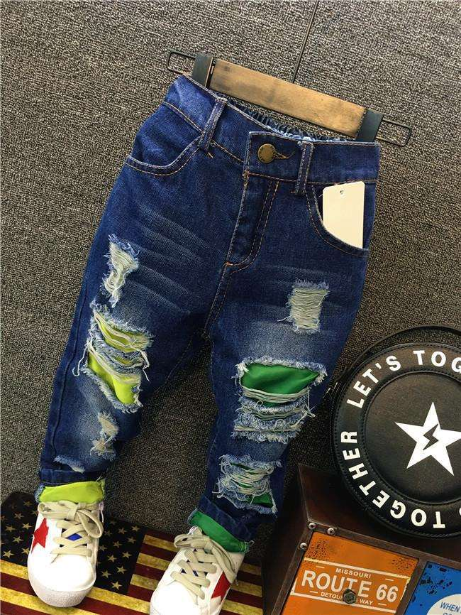 Baby Boys Cowboy Jeans