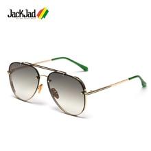 JackJad 2020 Fashion Top Quality Classic Pilot Style Gradient Sunglasses Men Riv