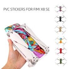 PVC su geçirmez etiket için Fimi X8 SE Drone aksesuarları vücut kabuk koruma cilt Quadcopter kamera Drone aksesuarları