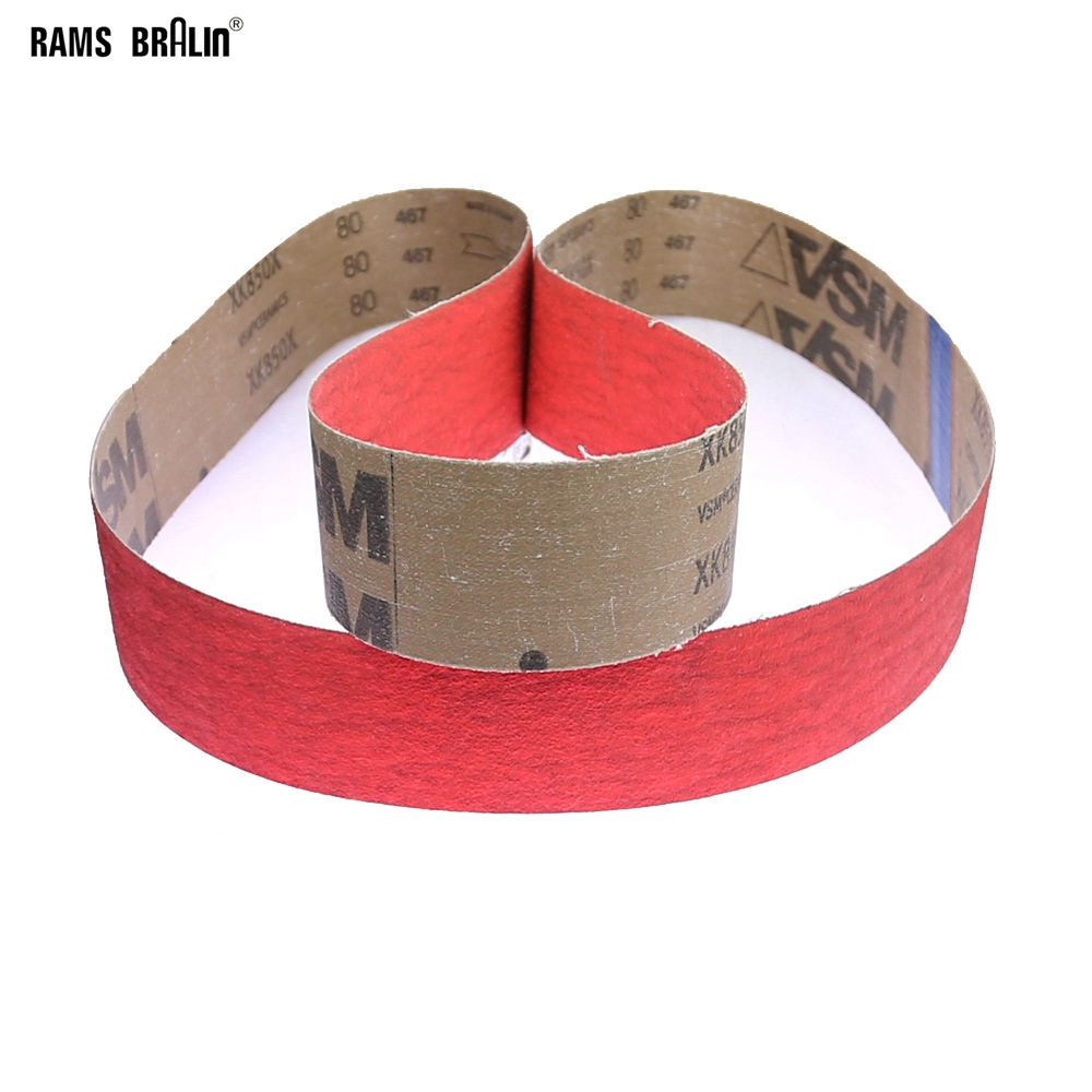 1 piece XK850X Ceramic Sanding Abrasive Belts for Superhard Steel Grinding-in Abrasive Tools from Tools