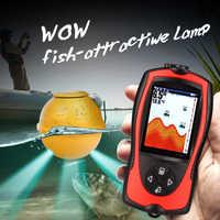1set Drahtlose Pescar Finder Biss Alarm Wireless Fisch Finder 147ft 45m Wasser Tiefer ecoscandaglio pesca Fisch Sonar Angeln finder