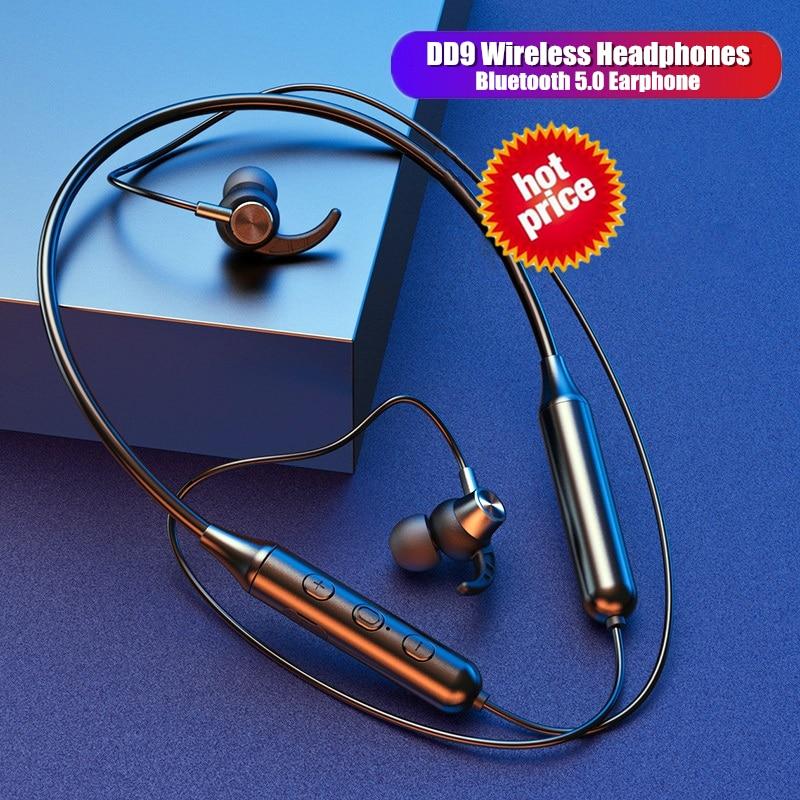TWS DD9 Wireless Bluetooth Earphones Headset Binaural call Waterproof Sport earbuds Noise reduction Headphones For smartphones