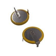 Akumulator litowo jonowy LIR2025 z 2 Pin pionowe 90 stopni 3.6V litowo przycisk monety komórek baterii 2025 zastępuje VL2020