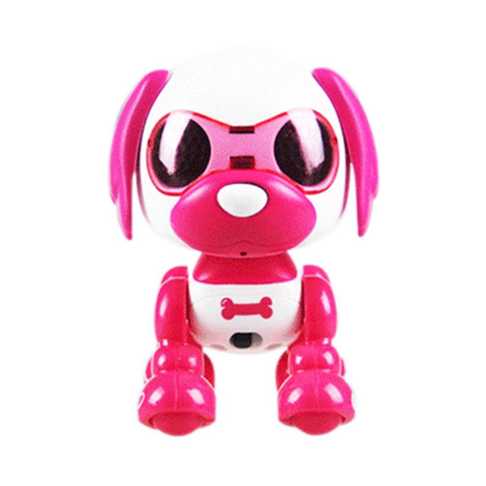 Interactive Intelligent Children Robotic Puppy Recording Toy Dog Sound Change Sleep LED Eyes Cute