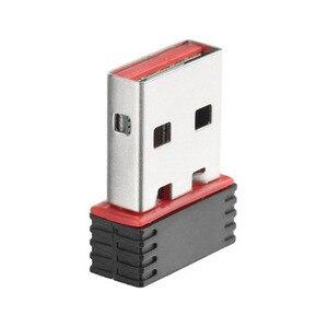 Image 3 - ミニ 150 150mbps ドングルネットワークカード無線 Lan アダプタ LAN Usb の Wi Fi ワイヤレスネットワークカード PC の USB 受信機