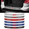 Новый стиль, Автомобильный багажник, задний бампер, защита от царапин, 3D наклейка из углеродного волокна для BMW X1 X2 X3 X4 X5 X6 X7, аксессуары