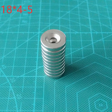 10pcs 18 X 4 mm Hole: 5mm N35 Countersunk Ring Neodymium Magnet Rare Earth Permanet Magnets for Art Craft 18*4-5mm