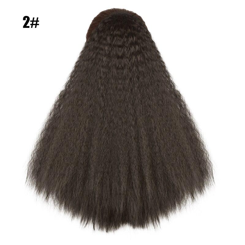 sintético envoltório no grampo extensões de cabelo