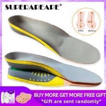 Wkładki ortopedyczne PVC Orthotics płaskostopie zdrowie podeszwa Pad dla wkładka do butów sklepienie łukowe pad dla podeszwy fasciitis pielęgnacja stóp tanie tanio SUPERAPEAPE 1 cm-3 cm Średnie (b m) Orthopedic Insoles Stałe Szybkoschnący Anti-śliskie Wytrzymałe Pot-chłonnym Szok-chłonnym