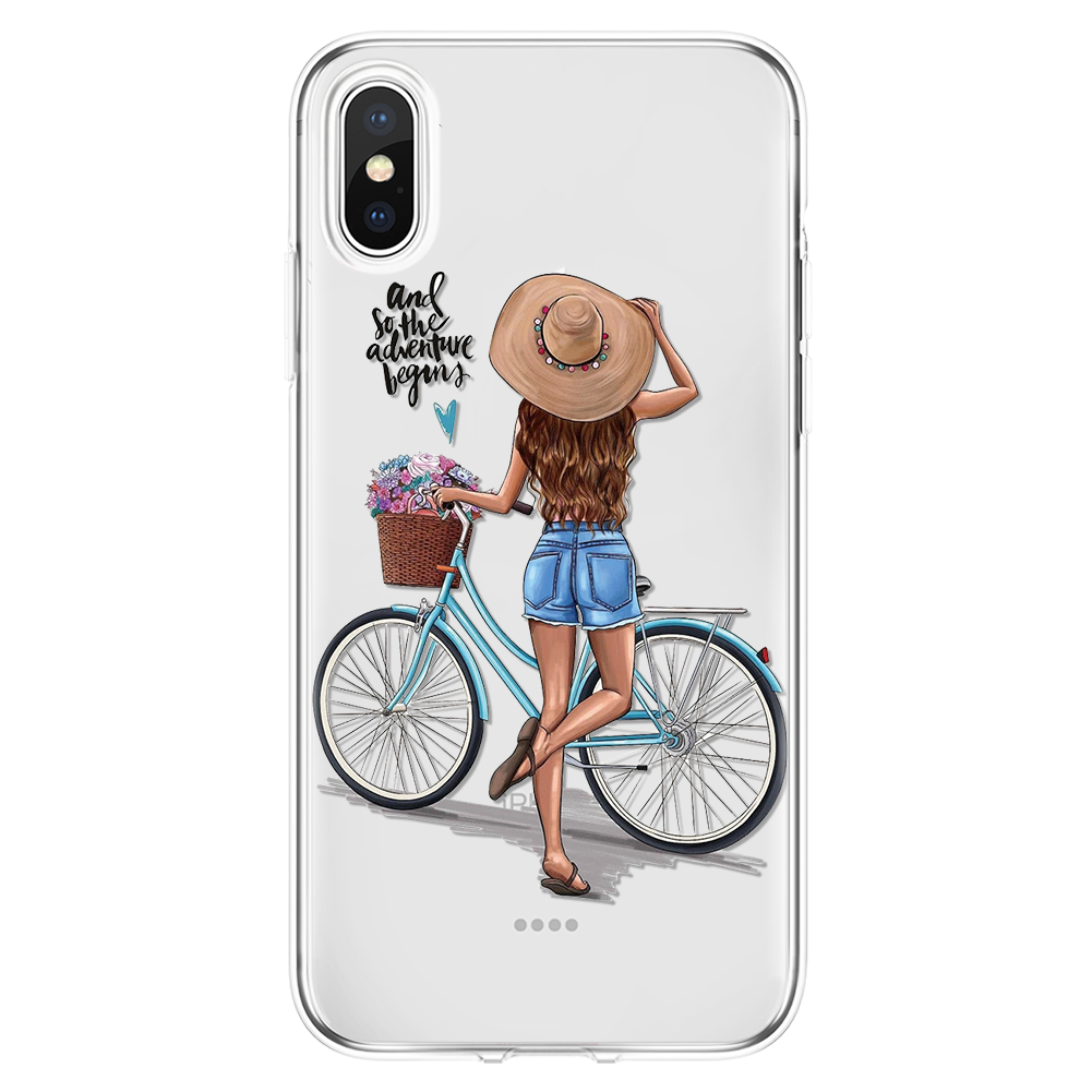 Summer cycling iPhone 11 case