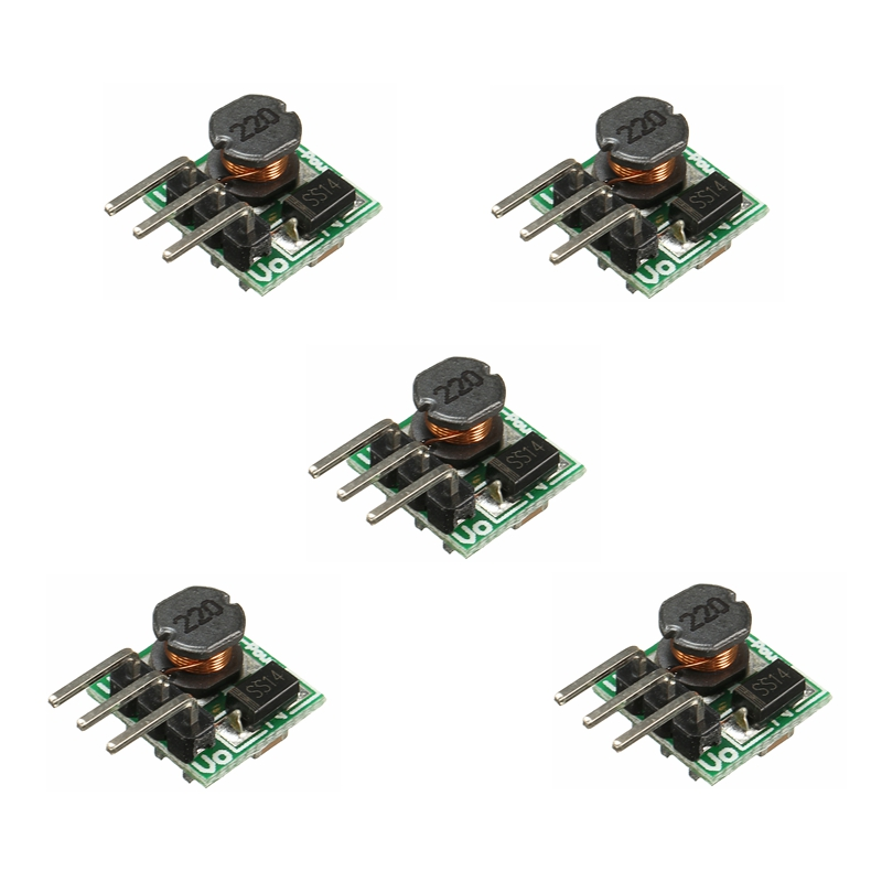 5PC NEW DC 0.8-3.3V To DC 3.3V StepUP Boost Power Mini Module For Arduino Breadboard Durable In Use