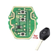 10 pçs/lote OEM 3 botão placa de circuito de controle remoto com 315mhz 433mhz para BMW EWS Systerm frete grátis