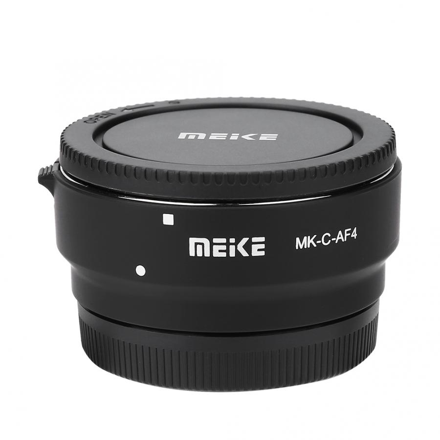 Meike MK C AF4 Auto Focus Adapter Ring Extension Tube for Canon EOS M Mount Cameras