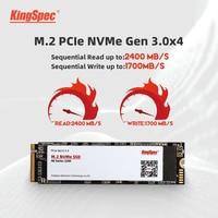 KingSpec SSD M2 nvme 120gb 240gb 500gb M2 SSD DA 1TB 2TB pcie NVMe 2280 PCIE SSD M.2 HDD PCIe Interno del Disco Rigido Per Il Computer Portatile MSI