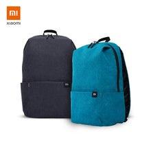 Рюкзак xiaomi 10 л 2 шт в комплекте черный с светло голубым